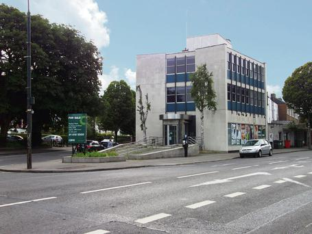 The former Bank of Ireland building in Dublin 4, which has been taken over by Lisney