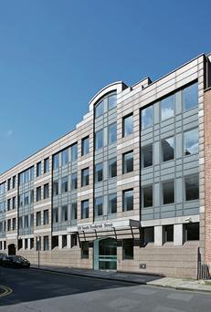 The New Ireland offices at 5-9 South Frederick Street, Dublin 2