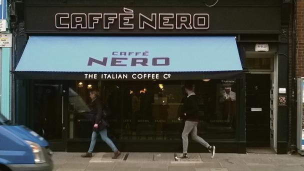 Caffe Nero's first Dublin store opened on St Stephen's Green