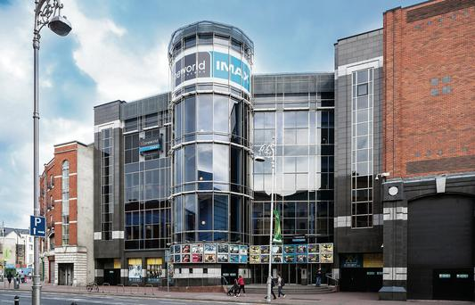 Grand view: The Cineworld cinema complex in Parnell Street, Dublin was purchased by Quadrant Estates last month, and the firm's managing director Christopher Daniel has revealed that it is now looking to clinch more deals in Ireland