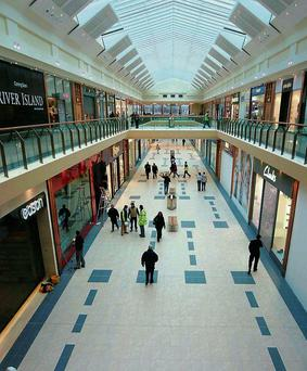 Space Age: Cork's Mahon Point Retail Park was one of the few sites found to have full occupancy