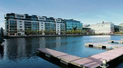 The Marker Hotel is located at Grand Canal Dock in Dublin