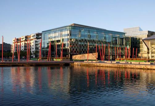 Grand Canal Square in Dublin's docklands
