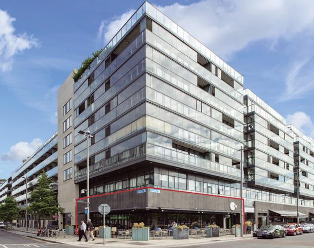 Savills are seeking €3.5m for the Ground floor unit at 1 Hanover Quay