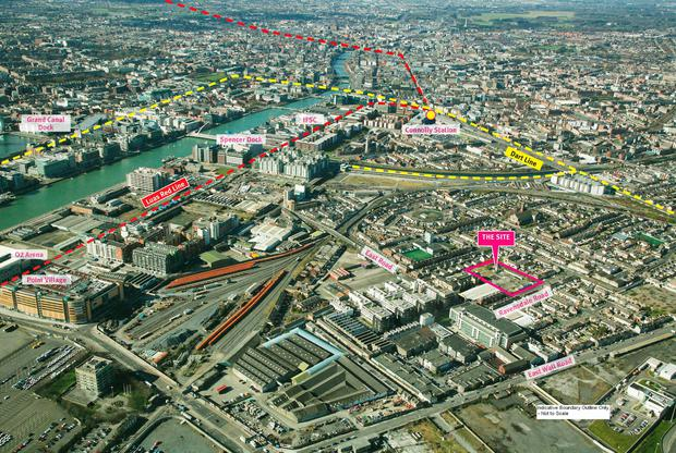 The Ravensdale site in Dublin is on the market for €1.5m