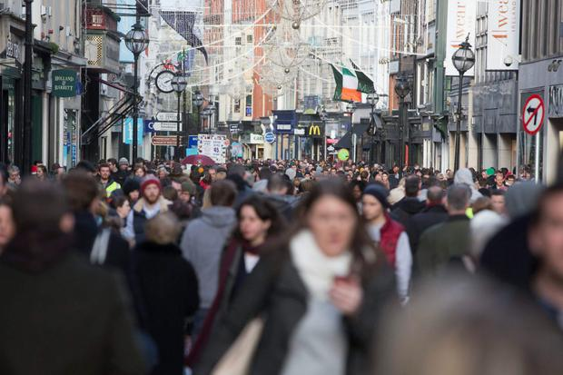 Grafton Street is fully occupied for the first time in seven years