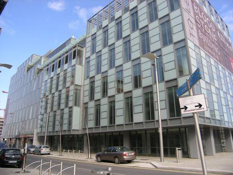 The Bloodstone Building in Dublin's Docklands