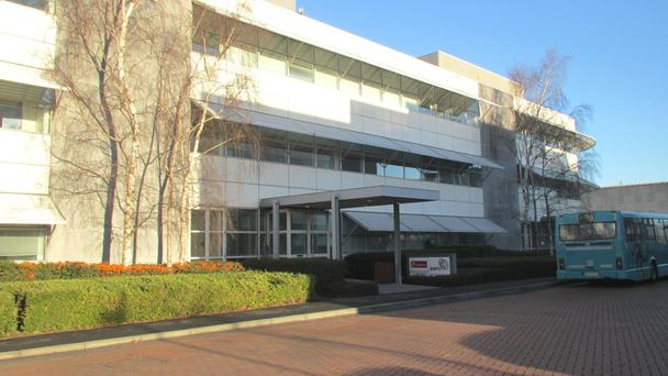JLL is offering space at the F2 building in East Point to rent