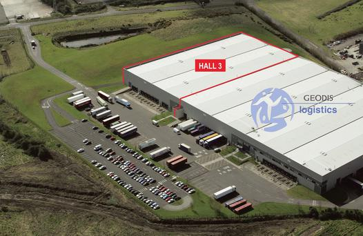 The facility at Damastown Industrial Park in west Dublin is available for rent on flexible lease terms