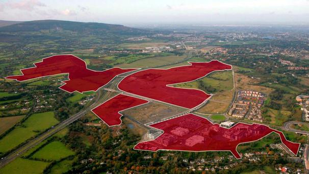 The Cherrywood land bank, which Hines bought for €270m last year