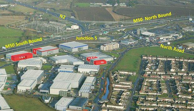 CBRE is guiding €4.5m for these units at North Parj in Dublin