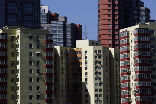 Chinese new home sales slowed, in the latest sign of a slowdown in the economy there