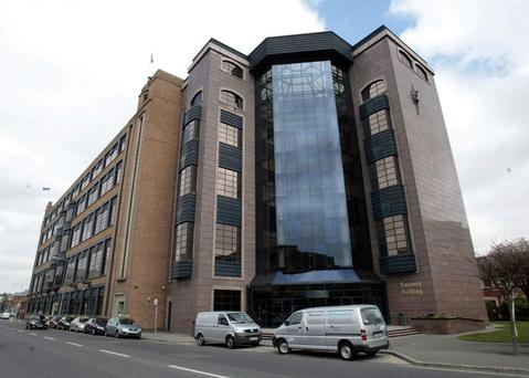 Nama's headquarters - it is the biggest source of work