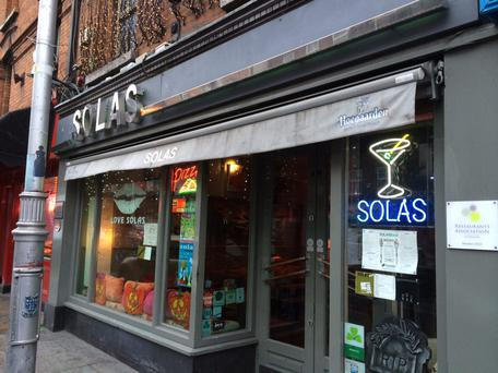 Solas on Camden Street