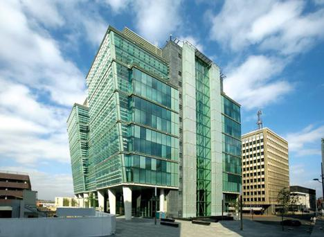 Ballymore are said to be seeking a buyer for its Three Snowhill office buildingin Birmingham