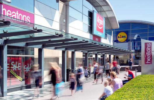 WestEnd retail Park in Dublin is one of the better positioned parks in the country