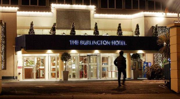 The Burlington Hotel in Dublin has now been taken over by the Doubletree brand