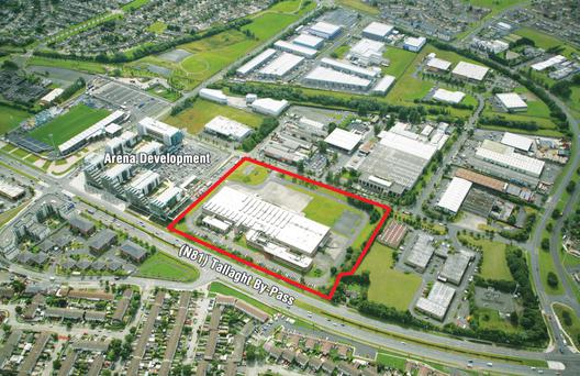 The former Fruitfield facility in Tallaght Business Park which had an asking price of €4.25 million.