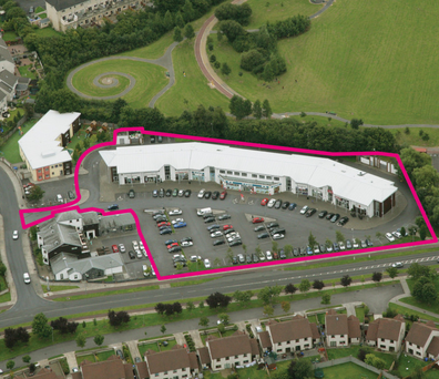 Allsop is seeking €2.3m for the Newtown Centre in Limerick