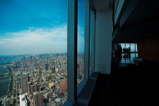 The view from the new World Trade Centre