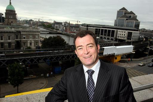 Patrick Burke, managing director of Irish Life Investment Managers