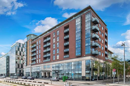 CBRE is guiding €3m for this ground floor office on Sir John Rogerson's Quay in Dublin