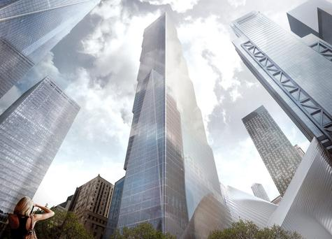 An artist's impression of 2 World Trade Centre
