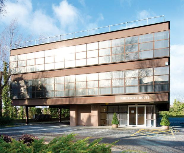 Savills is quoting €1.45m for the Whitewell office building in Dun Laoghaire