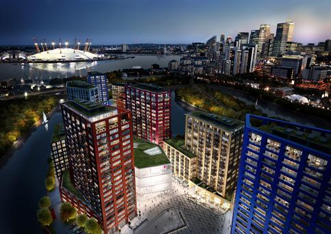 Balymore's latest development City Island in London