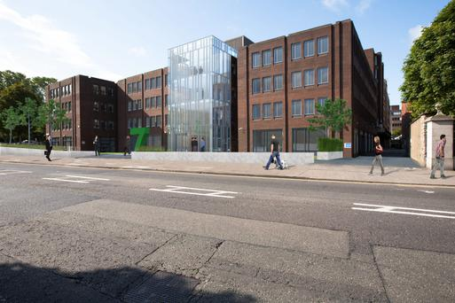 JLL is letting agent for the 7 Grand Canal office block