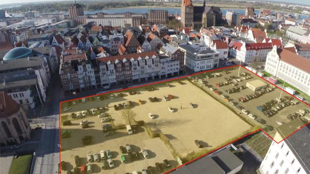 McGrath construction have earmarked this site in Rostock for a €100m construction project