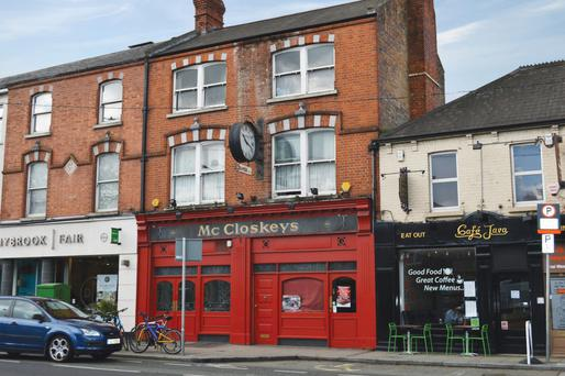 Morrissey's is seeking €1m for McCloskey's pub