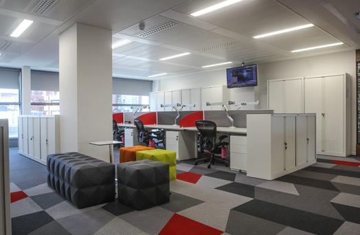 JLL's new offices at Styne House