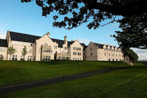 The hotel at the Lough Erne Resort in Co Fermanagh which was bought by a group led by financier Michael Saliba