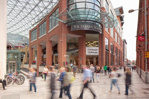 Lambert Smith Hampton is letting agents for Victoria Square shopping centre in Belfast