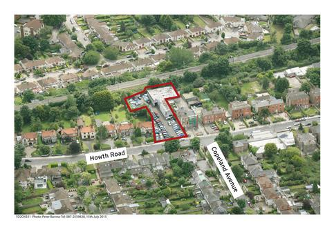 DTZ Sherry FitzGerald is guiding €1.75m for this site at 63 Howth Road, Clontarf