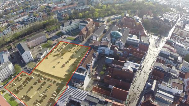 The McGrath Group plans a large development at this site in Rostock in Germany