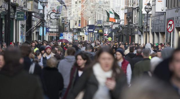 Grafton Street rents are climbing again after years of stagnation.