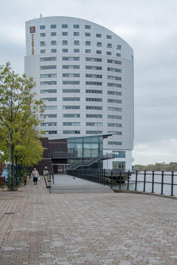 The Clarion Hotel in Limerick