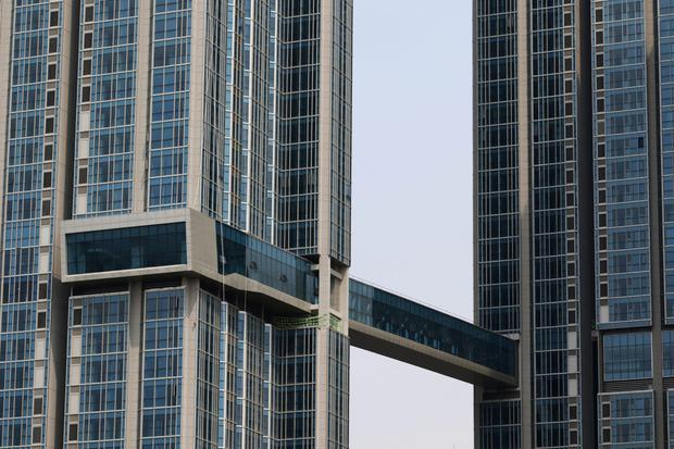 Office rents in Seioul in Korea are sliding