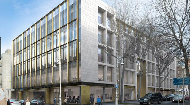 Green REIT plans to build this property at 13-17 Dawson Street in Dublin 2