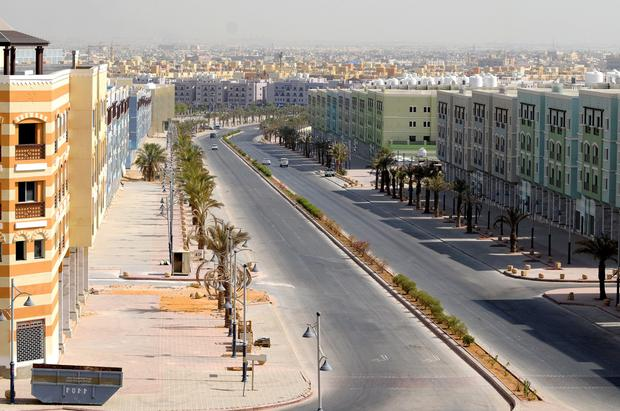 New homes in Riyadh. The Saudi government wants to charge owners of vacant sites