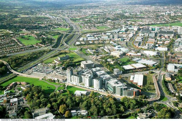 The Central Park office development in South Dublin