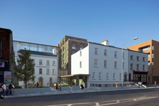 Artists' impressions of the proposed Clayton Hotel development in the capital