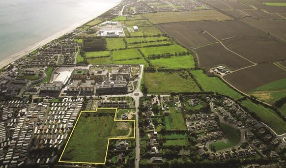 Savills is guiding €900,000 for this site in Bettystown
