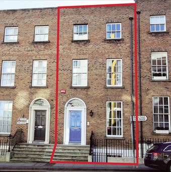 21 Holles Street is on the market for €650,000
