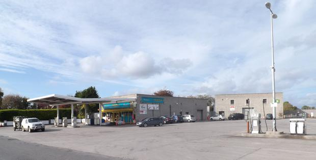 DTZ Sherry Fitzgerald is guiding €800,000 for this petrol station and fuel depot at Oldcastle in Co Meath