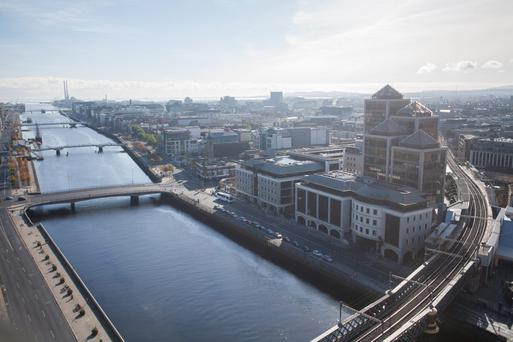 Dublin has been ranked as the third-best office and retail investment opportunity in the world by global real-estate investment group Hines