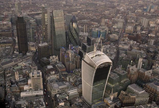 Lenders financing London property are seeking higher interest rates as the market there slows