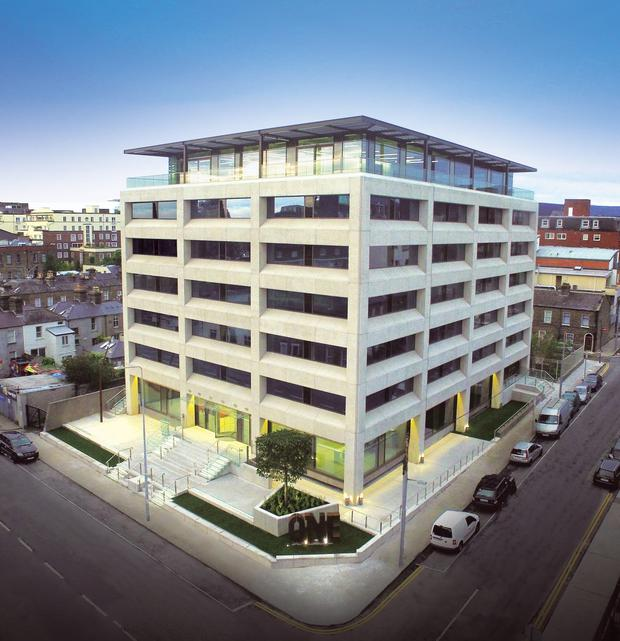 Stripe is expected to sub-let space at the One Building for up to €60 per sq ft.